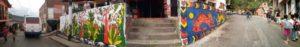 Foto panoramica murales
